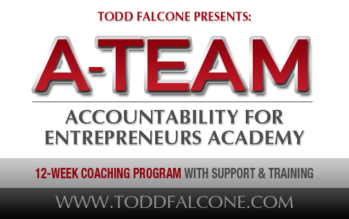 Todd Falcone A-Team Coaching
