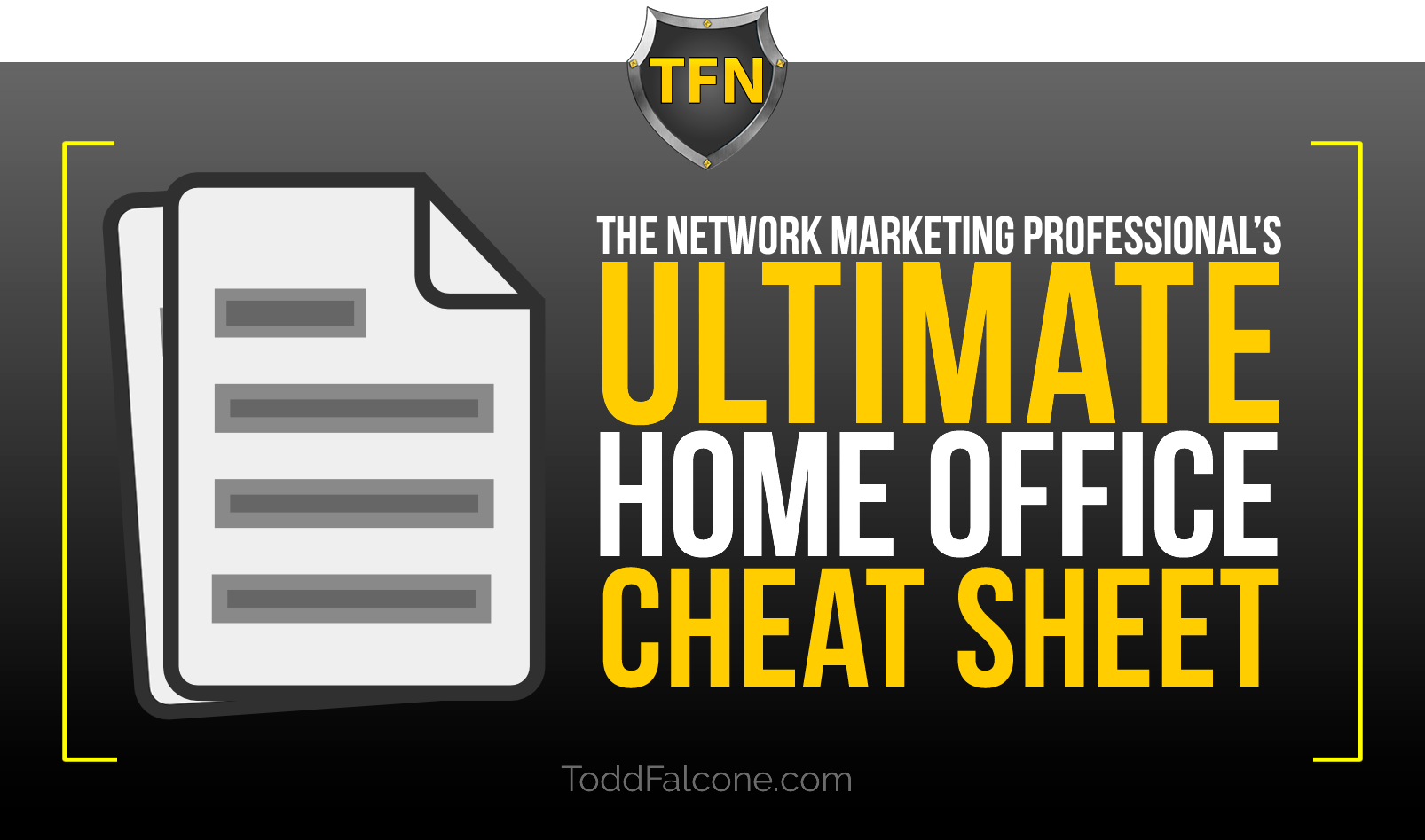 The Ultimate Home Office Cheat Sheet