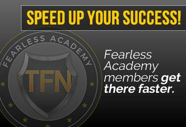 Todd Falcone Fearless Academy