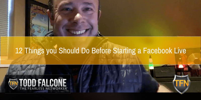 12 Things you Should Do Before Starting a Facebook Live
